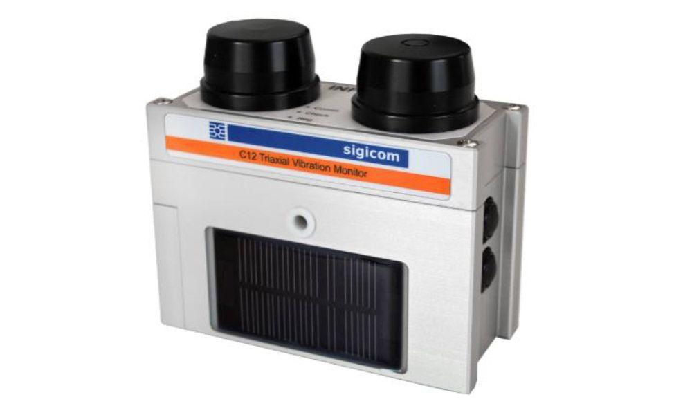 Geophone Triaxial Autonome C12